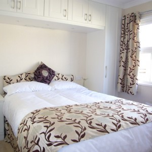 Guest bedroom in brand new showhome, at Ferndale Park, Bray, Berkshire