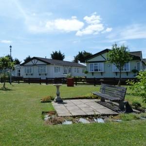 Ferndale Green, in the centre of Ferndale Park, Bray, Berkshire