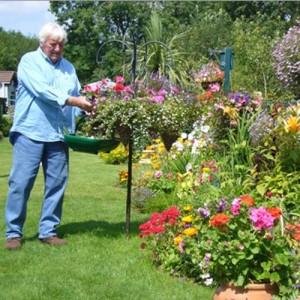 Open-plan gardens on Merrywood Park, Box Hill, Surrey