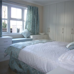 Master bedroom in brand new showhome at Ferndale Park, Bray, Berkshire
