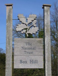 Box Hill National Trust facilities, near Merrywood Park, Surrey