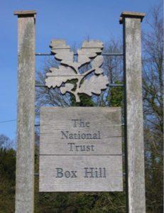 Box Hill National Trust facilities, near Merrywood Park, Surrey