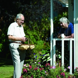 Residents at Blackbushe Park, Yateley, Hampshire