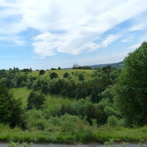 View across the North Downs near Merrywood Park, Box Hill, Surrey