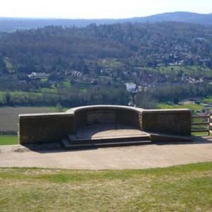 Box Hill Beauty Spot, near to Merrywood Park, Surrey
