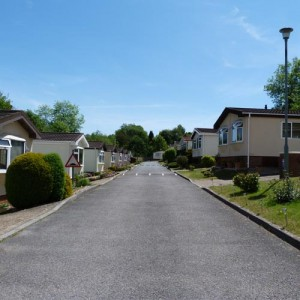 Estate road, Merrywood Park, Box Hill, Surrey