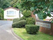 Merrywood park, Box Hill, Surrey, owned by Greenford Park Homes
