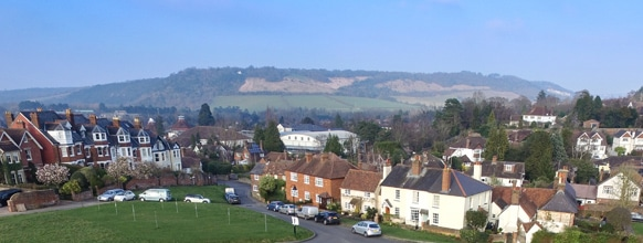 Dorking near Merrywood Park, Surrey