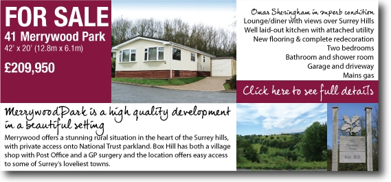 Mobile homes for sale in Surrey