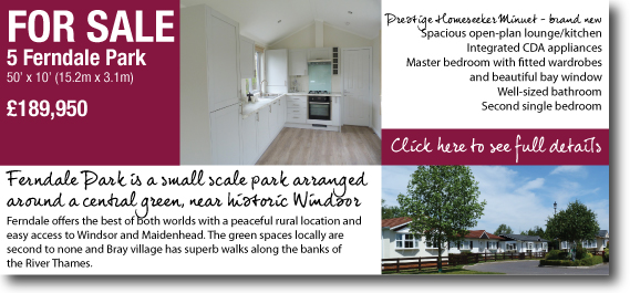 park home for sale berkshire