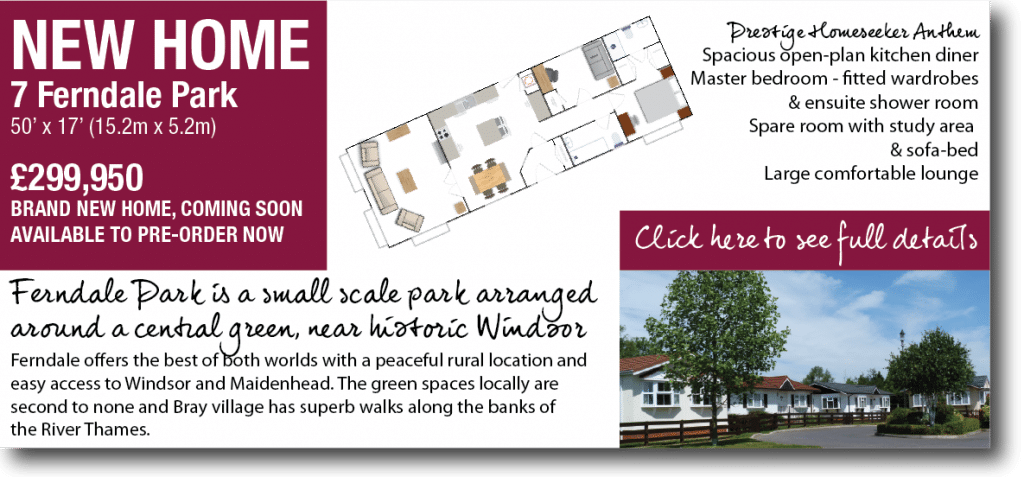 New home available for pre-ordering Ferndale Park near Windsor
