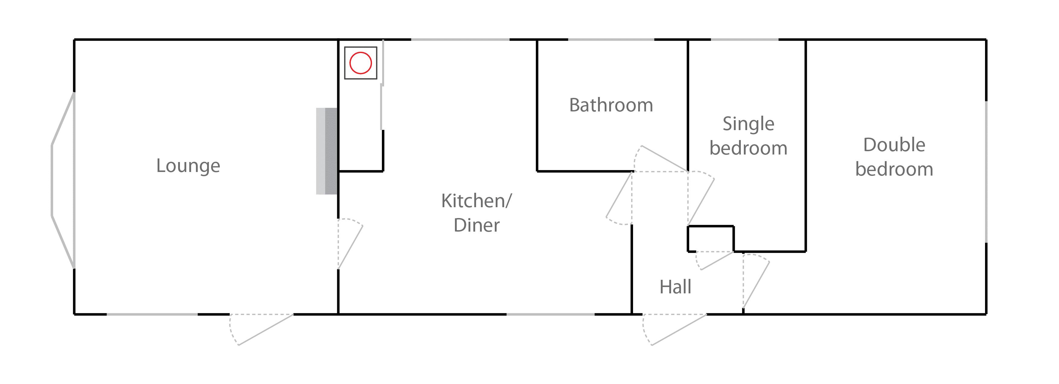 Floorplan for 17 Merrywood Park Box Hill Surrey